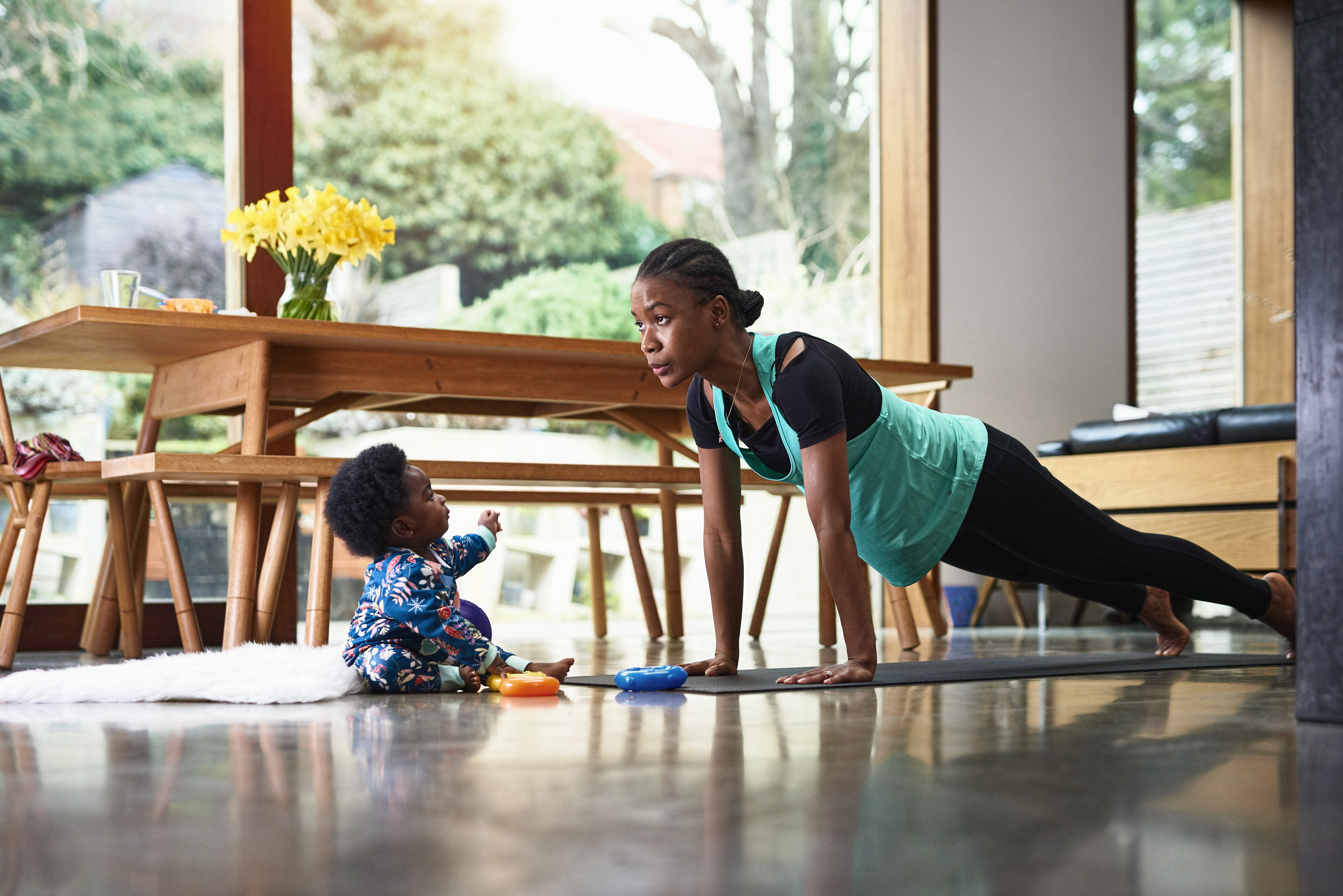 Staying focused on your fitness goals when working from home