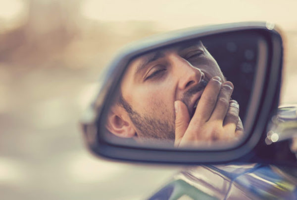 The real danger driving while sleep deprived