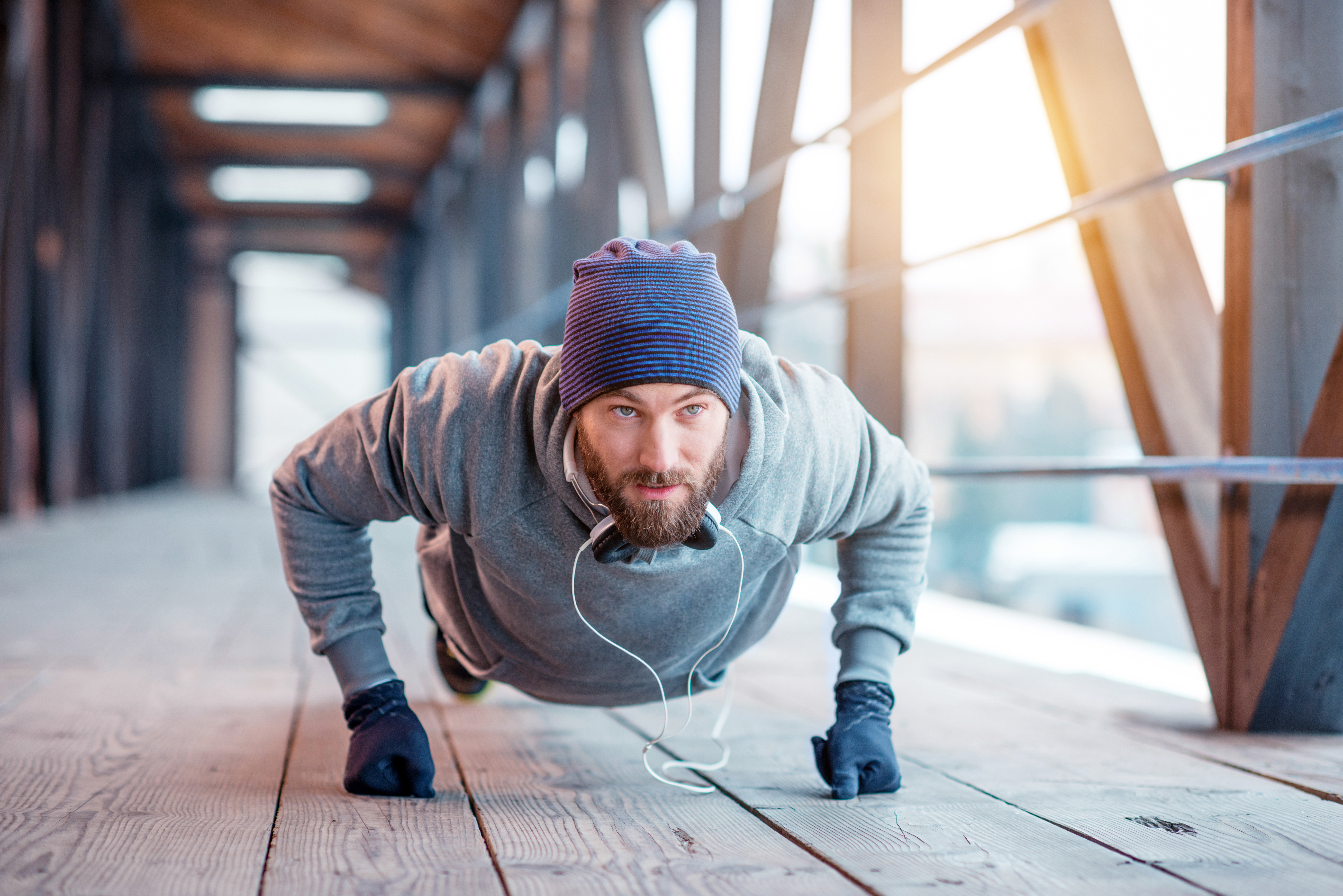 Staying motivated to exercise when it's cold outside